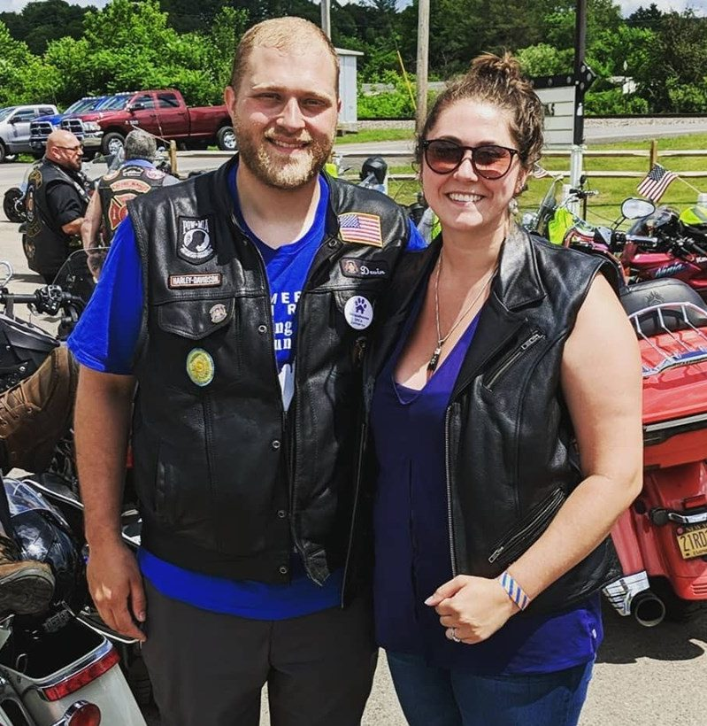 First Married Motorcycle Ride for C-VETS 2019